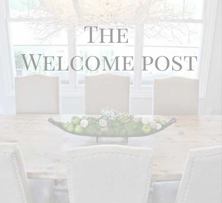 The Welcome Post