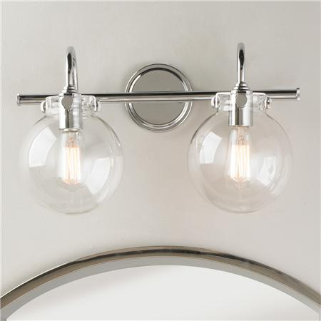 Round Globe Bath Light 2
