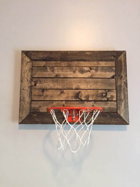 Pallet Basketball Hoop