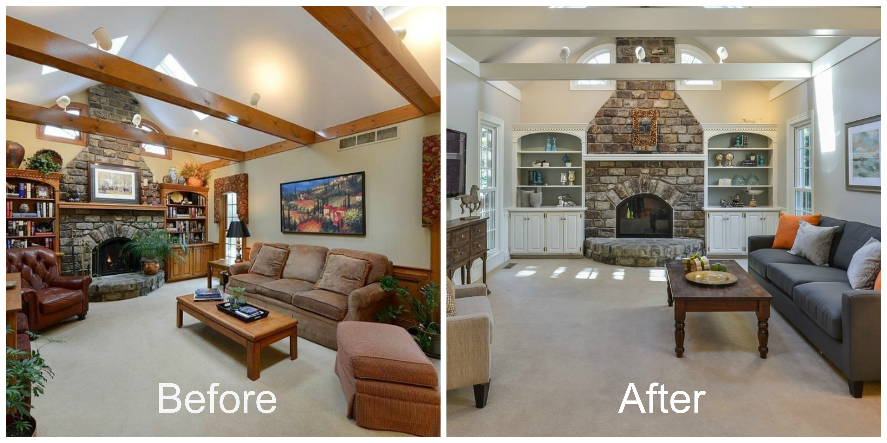 Interior design and home staging - Home Staging Before And After