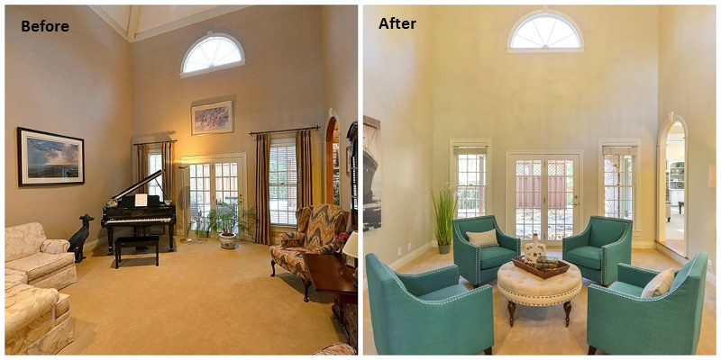 Interior Design Before And After Louisville KY