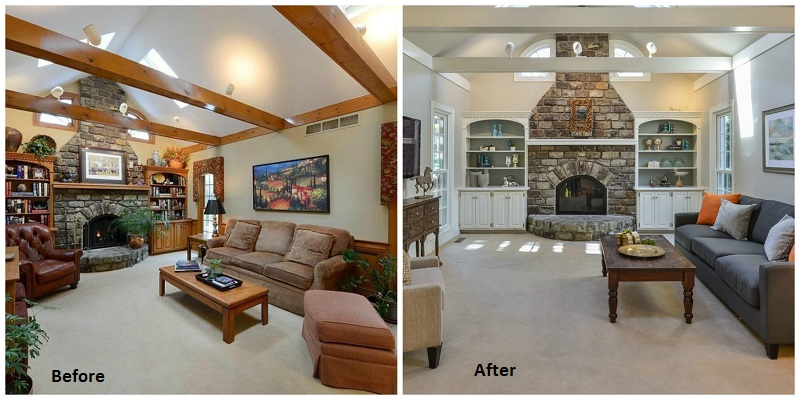 Interior Designers Before and After Louisville KY