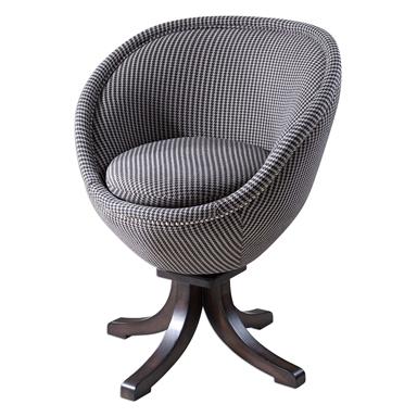 Houndstooth Retro Pod Chair